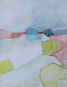Kustnära I 58x74cm akvarell