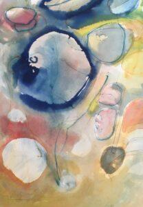 Manethav akvarell 46x60cm