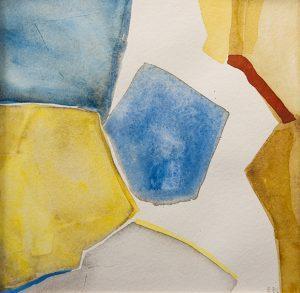 spricka akvarell